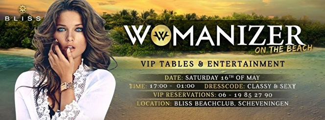 Womanizer on the Beach (flyer)