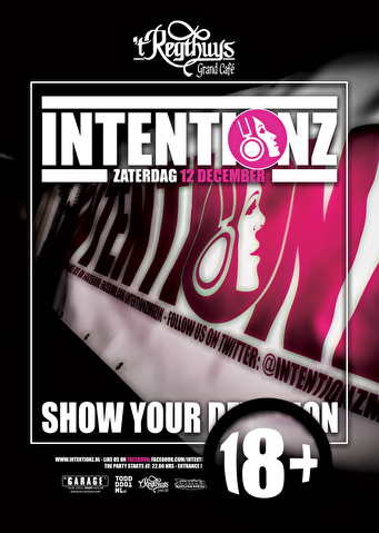 Intentionz Show your Devotion (flyer)