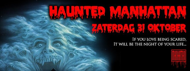 Haunted manhattan (flyer)