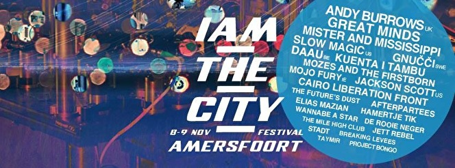 I Am The City (flyer)