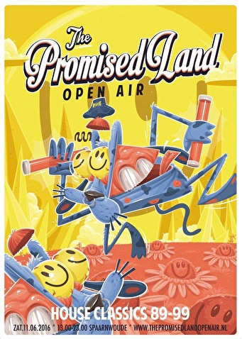 The Promised Land Open Air (flyer)