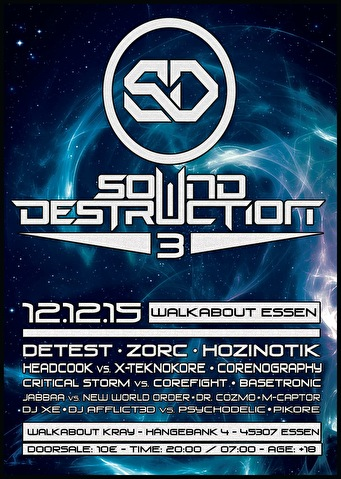Sound Destruction 3 (flyer)