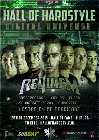 Hall of Hardstyle (flyer)