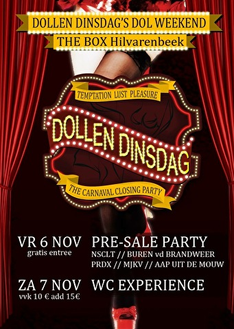 Dollen Dinsdag Pre-sale Party (flyer)