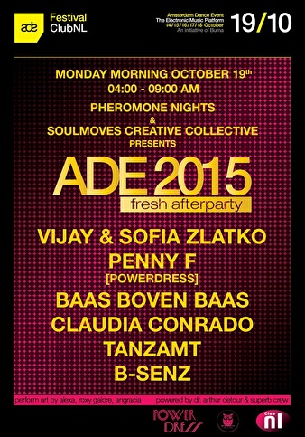 Fresh Afterparty ADE 2015 (flyer)