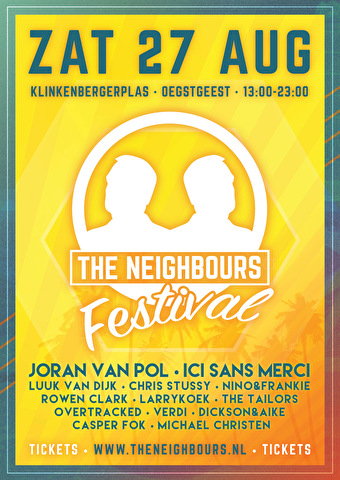 The Neighbours Festival (flyer)