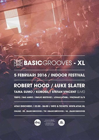 Basic Grooves XL (flyer)