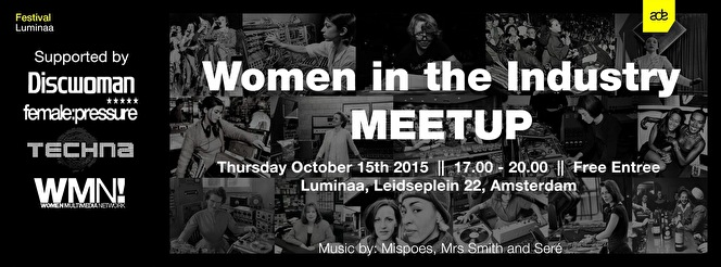 Women in the Industry MeetUp (flyer)