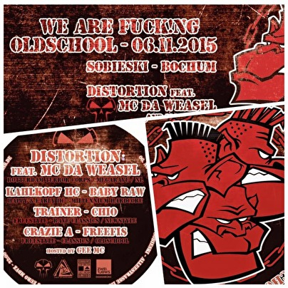We Are Fucking Oldschool (flyer)