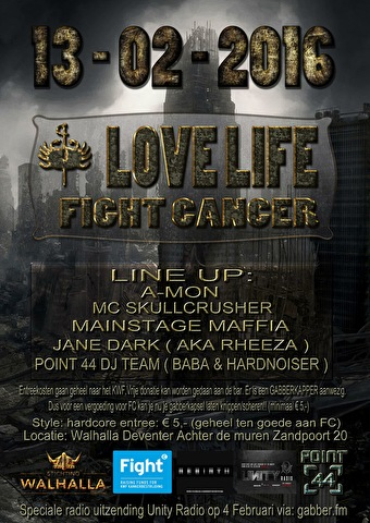 Love live. Fight cancer. (flyer)