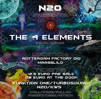 The 4 Elements (flyer)