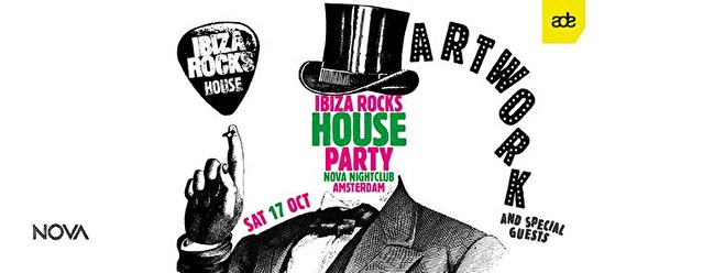 Ibiza Rocks House Party (flyer)