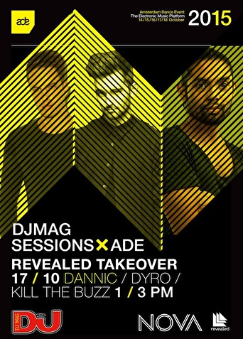DJ Mag ADE sessions (flyer)