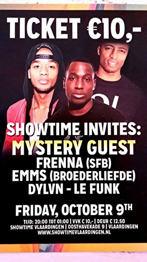 Showtime invites (flyer)