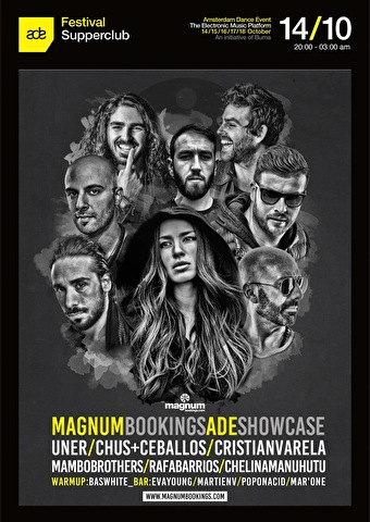 Bas White invites Magnum Bookings (flyer)