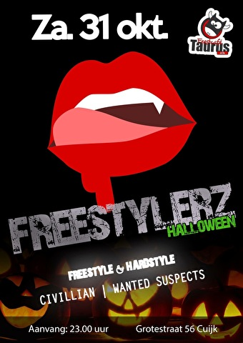 Freestylerz Halloween (flyer)