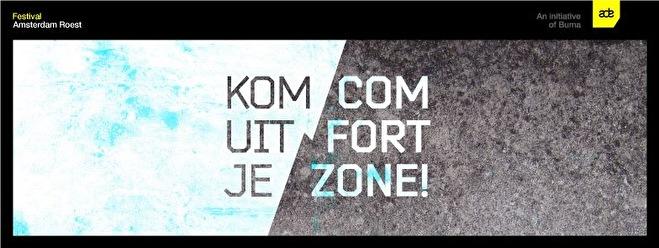 Kom uit je Comfortzone (flyer)