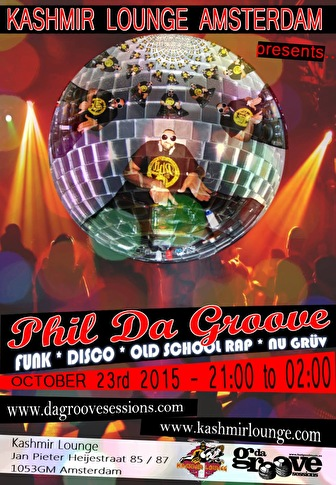 Phil Da Groove (flyer)