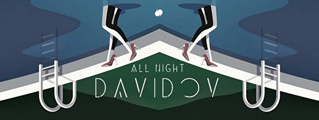 All Night Davidov (flyer)