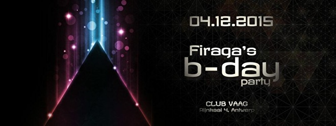 Dj Firaga's Bday party (flyer)