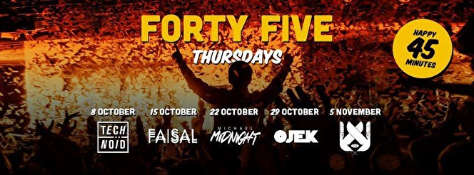Forty Five Thursdays (flyer)