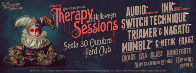 Therapy Sessions (flyer)