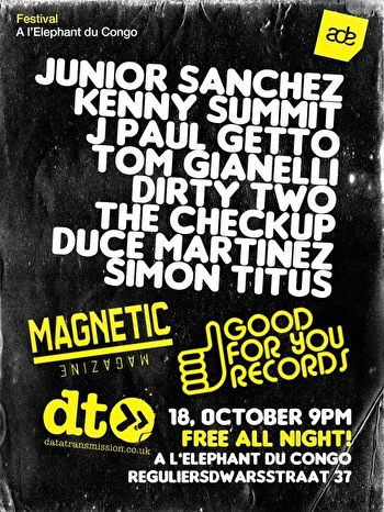 Good For You Records ADE Closing Party (flyer)