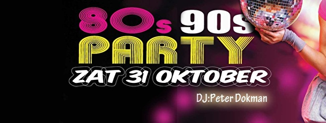80's-90's party (flyer)