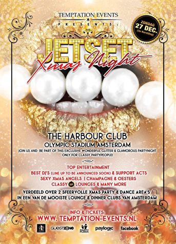 Jetset Xmas Night (flyer)