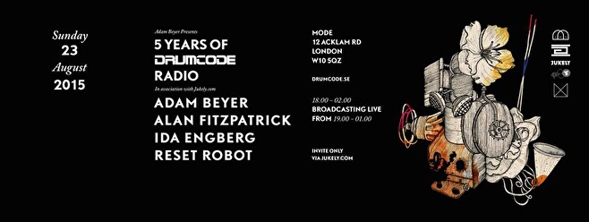 5 Years of Drumcode Radio (flyer)
