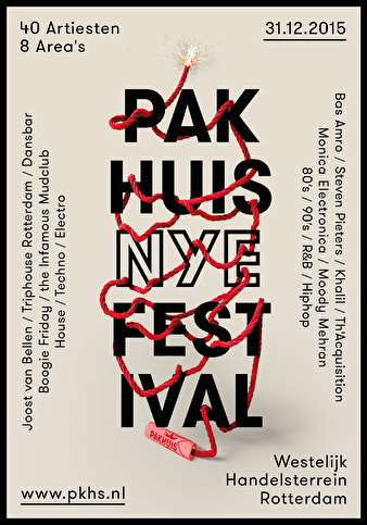 Pakhuis NYE Festival (flyer)
