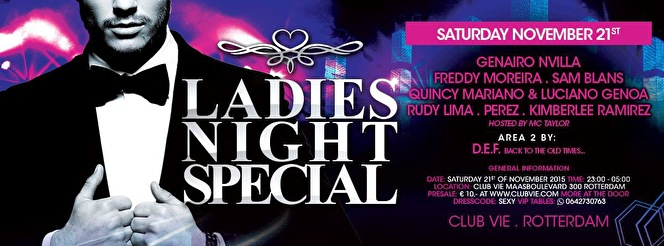 Ladies Night Specia (flyer)