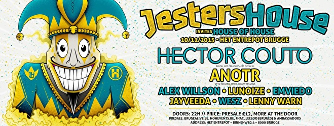 Jesters House invites House of House (flyer)
