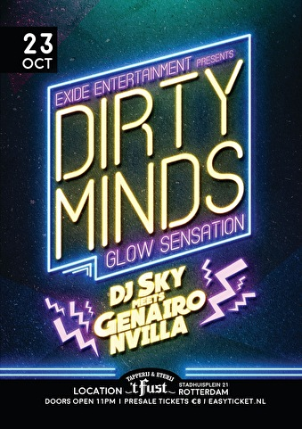Dirty Minds (flyer)