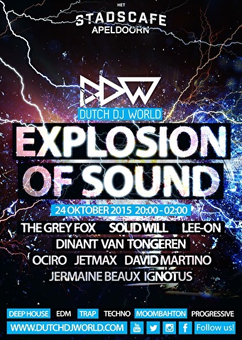 Explosion of Sound (flyer)
