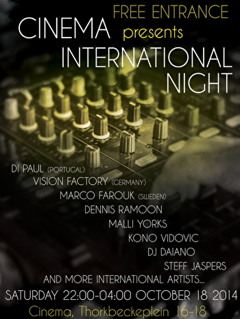ADE International Night (flyer)