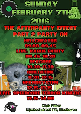 The Afterparty Effect (flyer)