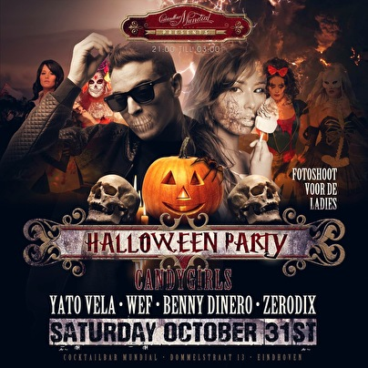 Halloween Weekend (flyer)
