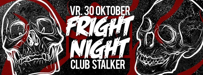 Stalker Fright Night (flyer)