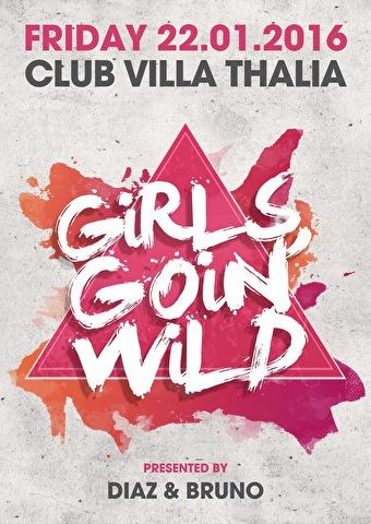 Girls Goin' Wild (flyer)