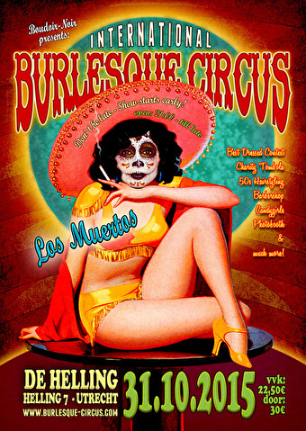 International Burlesque Circus (flyer)