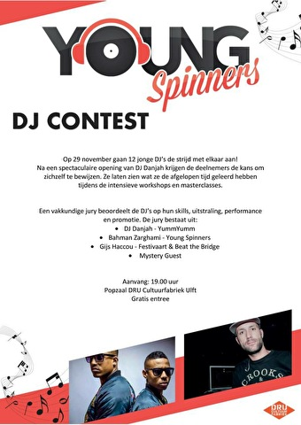 Young Spinners contest (flyer)