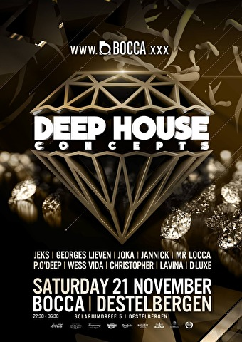Deep House Concepts (flyer)