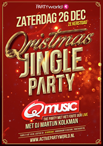 Qristmas Jingle Party (flyer)