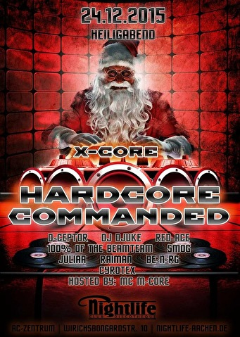 Hardcore Commanded (flyer)