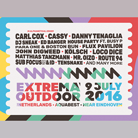 party agenda juli 2016