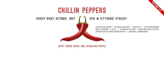 Chillin Peppers (flyer)