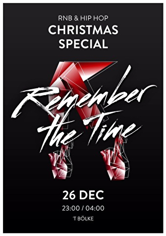 Remember the time (flyer)