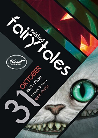 Twisted Fairytales (flyer)