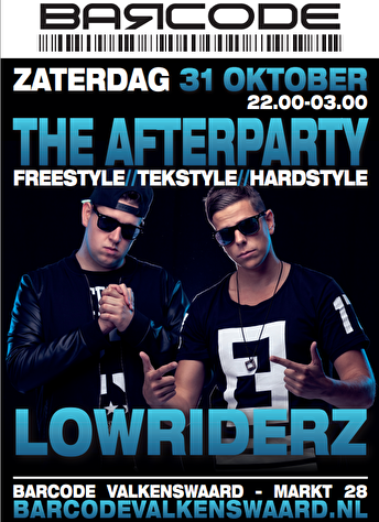 The Afterparty (flyer)